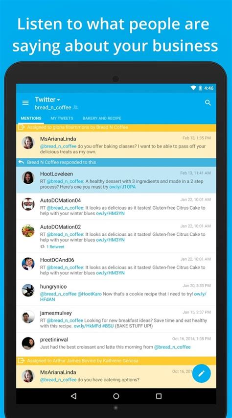 hootsuite for android hootsuite for social android apps on play