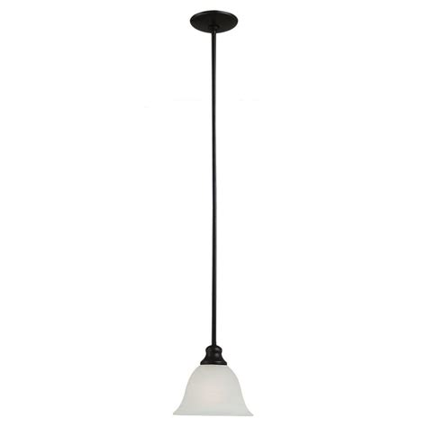 Home Depot Pendant Lighting Sea Gull Lighting Windgate 1 Light Heirloom Bronze Mini Pendant 61940 782 The Home Depot