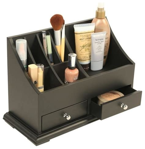 Bathroom Makeup Storage Personal Makeup Organizer Contemporary Bathroom Organizers