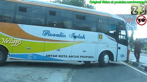 lorena vs rosalia indah hino bus rosalia indah youtube