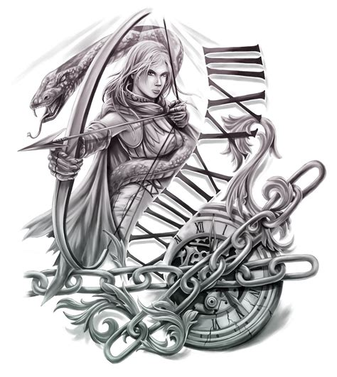 archer tattoo designs collection of 25 medusa archer design