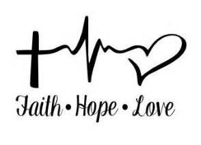 1000 ideas about faith hope love tattoo on pinterest