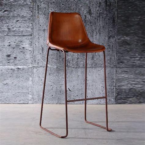 chaise cuir marron best 25 tabouret bar ideas on tabourets bar