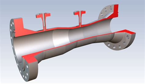 Duplex Style by Venturi Tube Type Kvr Is Used In Flow Measurement Of Steam