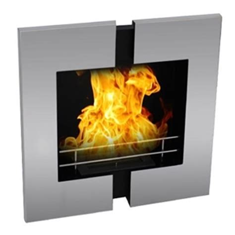 Mirror Wall Fireplace by Mirror Wall Mounted Bio Ethanol Fireplace Auction