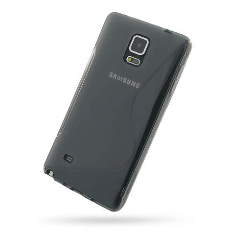 Samsung Galaxy Note 4 Premium Soft Casing Cover Bumper 7 samsung galaxy note 4 soft grey s shape pattern