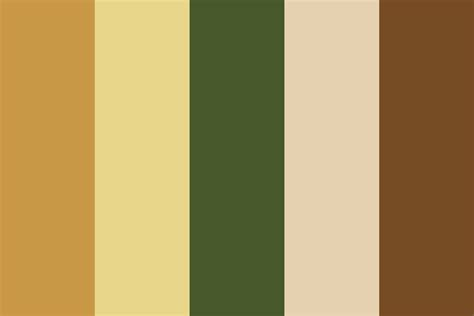 bourbon color vanille bourbon color palette