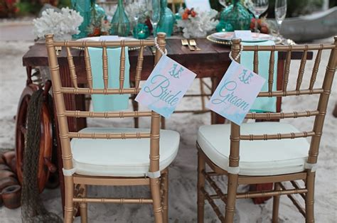 Table Chair Rentals Orlando by Paradise Cove Mermaid Styled Shoot A Chair