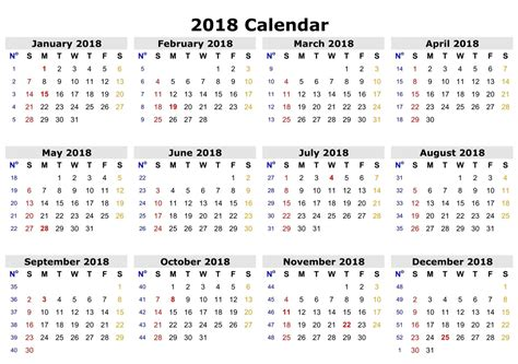 printable monthly calendar time and date 2018 yearly monthly calendar printable