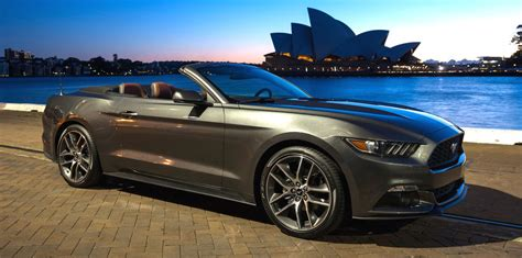 ford mustang in australia ford mustang production kicks for australia as local