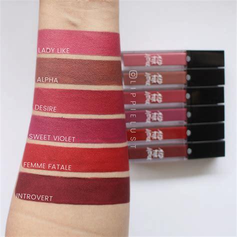 Lipstik Goban Lip swatched mad for lipstick lipquid matte lippielust