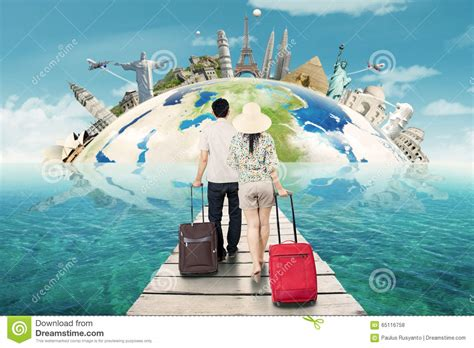 Traveling Around The World traveling around the world stock photography