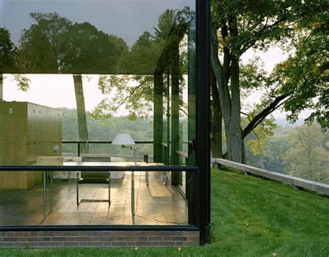 Phils House by Philip Johnson S Glass House Modern Architecture