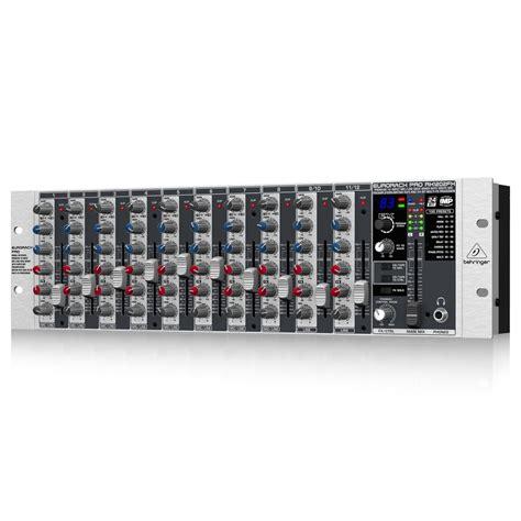 Mixer Behringer Eurorack behringer eurorack rx1202fx pro mixer at gear4music