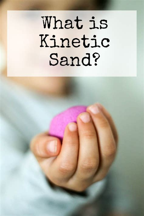 kinetic sand race track in the playroom