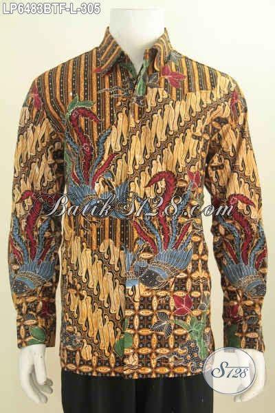 Hem Batik Bagus hem batik halus motif bagus proses kombinasi tulis kemeja