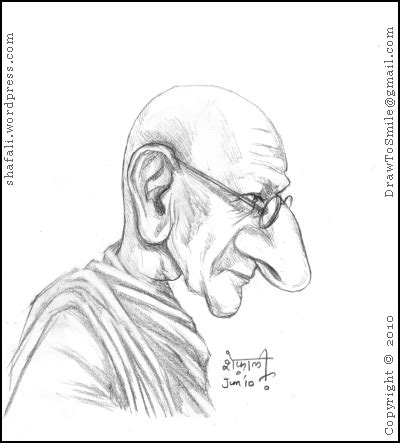 biography sketch of mahatma gandhi famous indian personalities shafali s caricatures