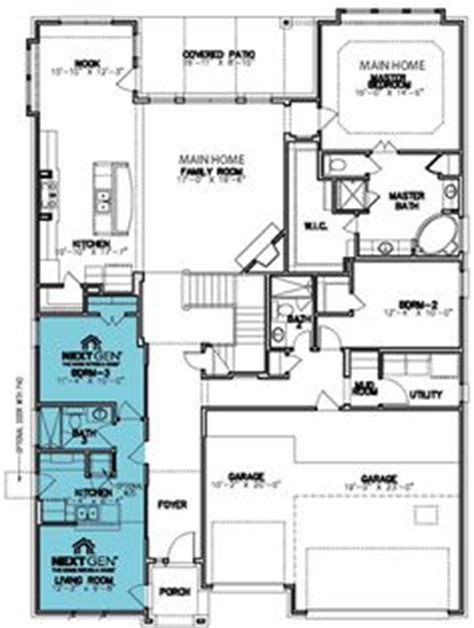 multi generation house plans 3189 square foot home 1 1000 images about lennar s next gen on pinterest new