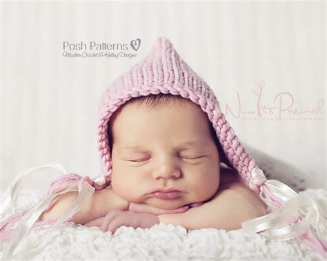 knit baby knitting pattern baby pixie hat easy knit baby hat