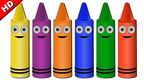 color crayon colors crayons learn colors with crayons learn colors