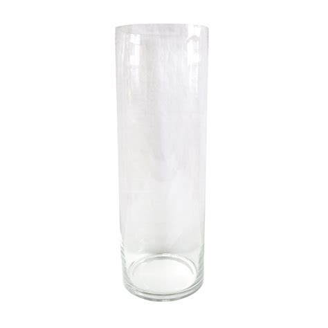 clear cylinder vase candles flower floor search