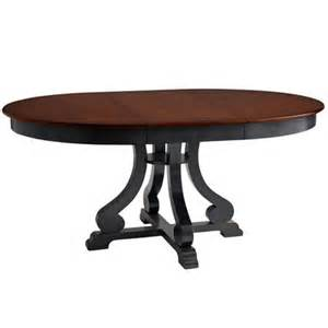 Pier One Dining Tables Marchella Extension Dining Table Rubbed Black Pier 1 Imports