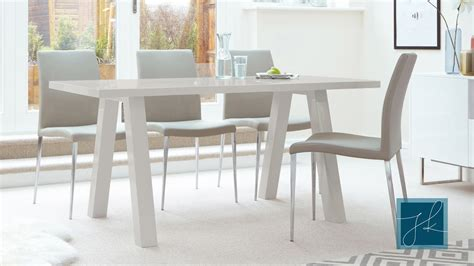 light grey dining table contemporary 6 seater grey gloss dining table uk