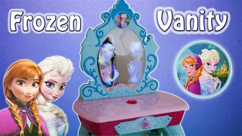 Frozen Kingdom Vanity by Frozen Disney Elsa Kingdom Vanity Toys