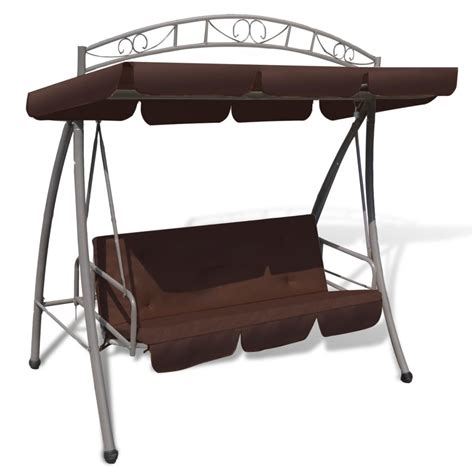 swing chair with canopy outdoor swing chair bed canopy patterned arch coffee