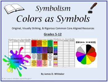 color symbolism in literature symbolism colors as literary symbols common by