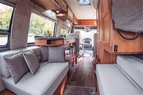Luxury Homes Interiors Rv Wheel Life 187 Blog Archive 187 Roadtrek S Rs E Trek Green