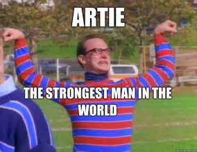 The strongest man in the world artie the strongest man in the world