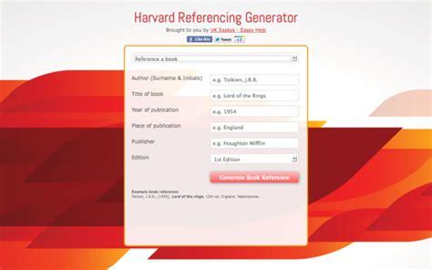 harvard bibliography generator harvard referencing generator free download and software