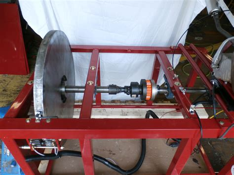 axle assembly inertia dyno  dynamometer  stan hewitt hewitt inertia dynos