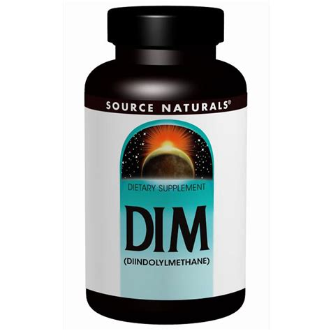 Dim Detox Acne by Source Naturals Dim Diindolylmethane 100 Mg 60
