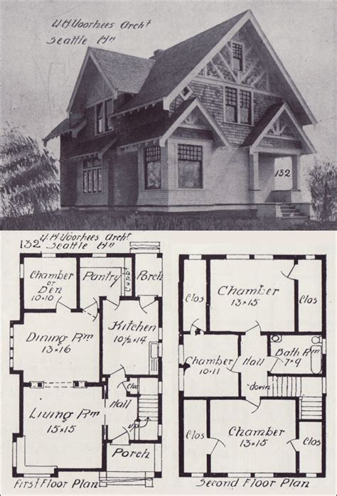 tudor home plans seattle homes tudor style house plan design no 132