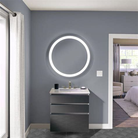 robern lighted mirror robern introduces vitality lighted bath mirrors for budget
