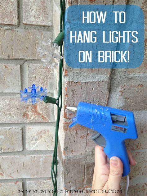 best way to hang lights on stucco 41 best stucco adhesive attaching to stucco images on