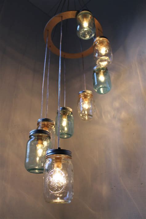 jar lighting fixtures diy light fixtures jar diy craft projects