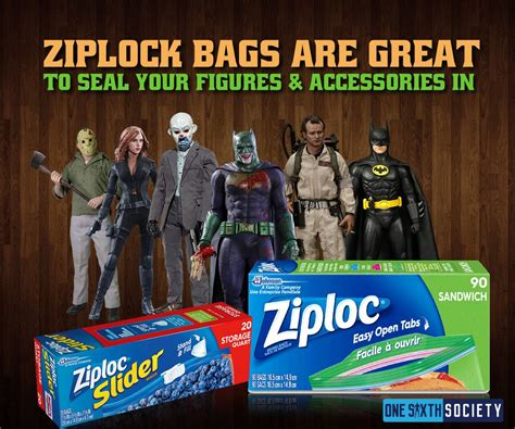 figure ziplock bags protect your figures from disasters one