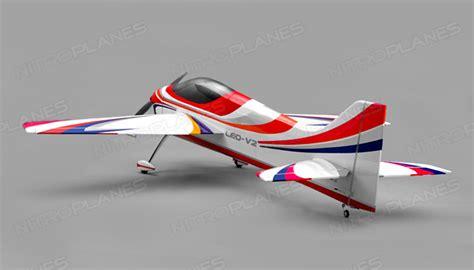 pattern airplanes rc nitroplane leo v2 sport aerobatic pattern plane kit 1746mm