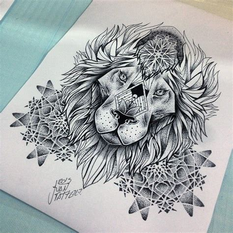 ideas  mandala lion  pinterest lion art wolf face tattoo  wolf face drawing