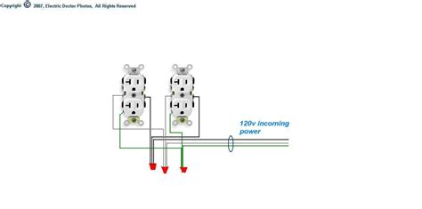 2 outlet wiring diagram 28 wiring diagram images