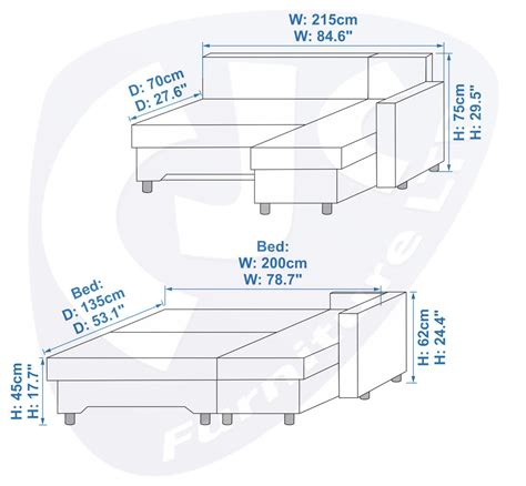dimensions for a full size bed full size sofa bed dimensions sofa bed size dimensions