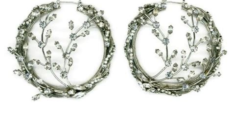 Would You Wear This Erickson Beamon Headband by Beautiful And I Would Wear If Not Large A Hoop