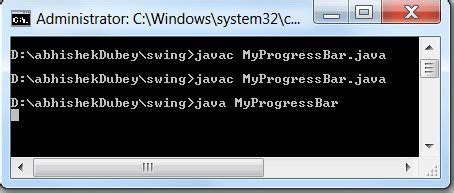 progress bar in swing working with progressbar in swing