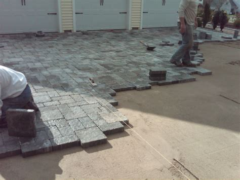 Installing Pavers Patio Preferred Properties Landscaping And Masonry Installing A Paver Driveway Preferred Properties