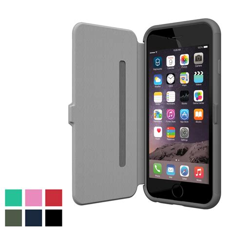 Patchworks Inc - patchworks colorant c3 folio for iphone 6 s 6 s