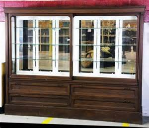 Antique Store Display Cabinet 463 Antique General Store Display Cabinet Lot 463