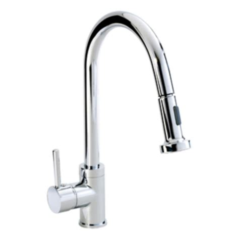 kitchen sink and taps phoenix round single lever sink tap kt003 baker and soars